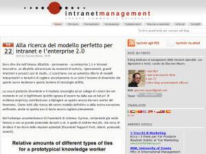 Intranet Management